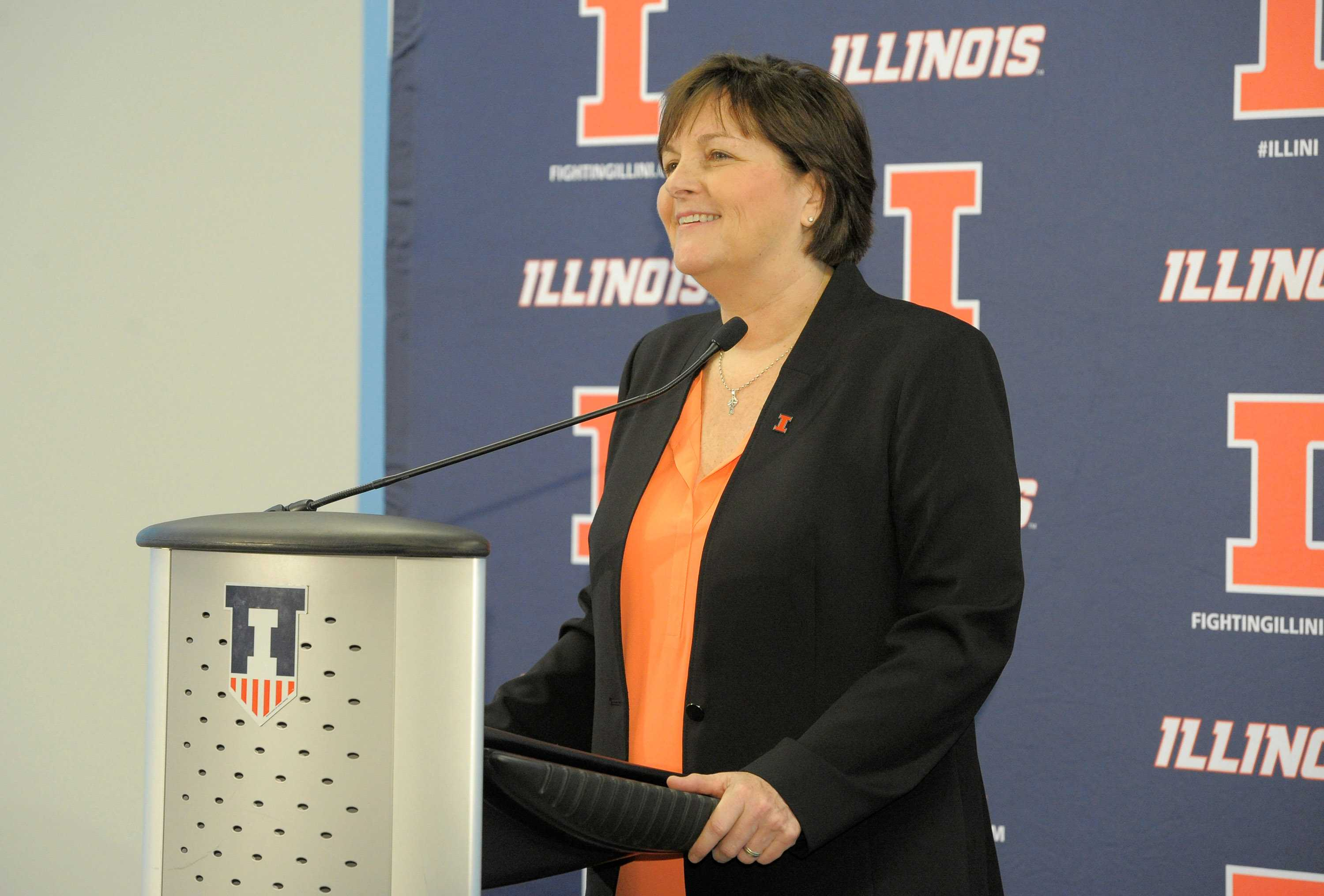 Nancy Fahey is the new head coach for Illini women's basketball after coaching for 31 years at Washington University in St. Louis.