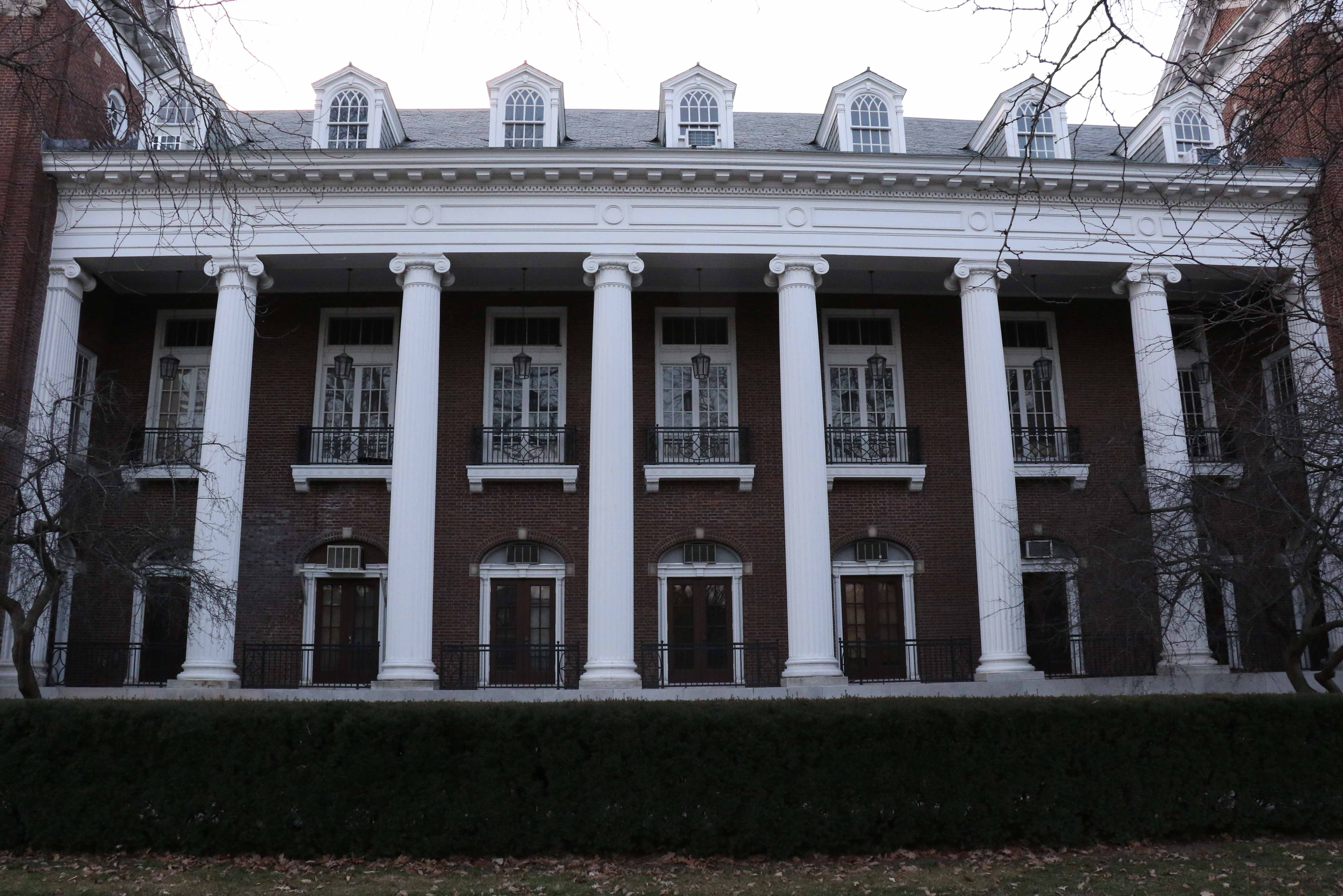 The English Building is the home to the department of English, which places 95 percent of students after graduation.