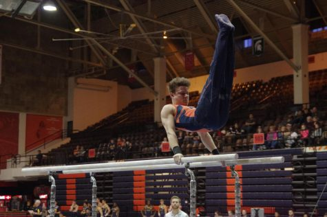Baker near-perfect in vault; named Co-Gymnast of the Week in Big Ten