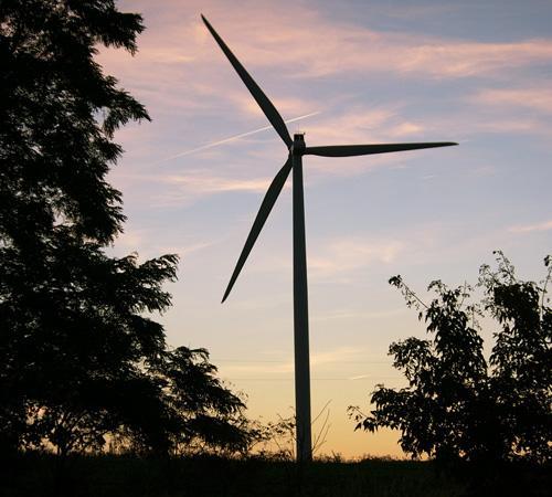 Wind power helps University decrease carbon footprint