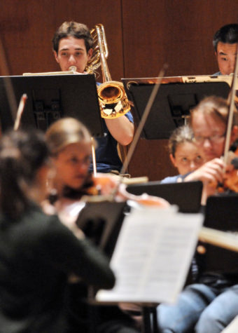 UI Symphony Orchestra prepares for final concert of the year