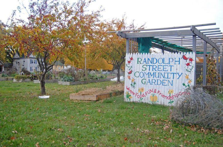 The+Randolph+Street+Community+Garden%2C+on+the+corner+of+Randolph+St.+and+Beardsley+Ave.%2C+is+a+local+volunteer-staffed+garden+where+community+members+can+come+and+grow+their+own+produce.%C2%A0