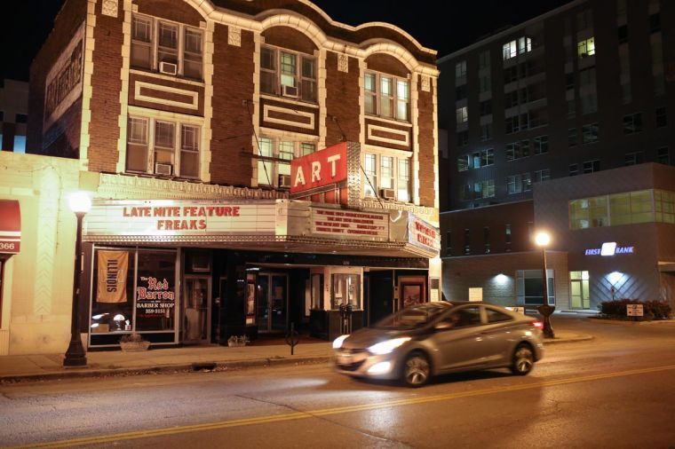 The+Art+Theater+Co-op%2C+located+on+Church+Street+in+downtown+Champaign%2C+celebrates+its+centennial+this+week.+It+often+plays+contemporary+films+not+shown+at+other+local+movie+theaters.%C2%A0