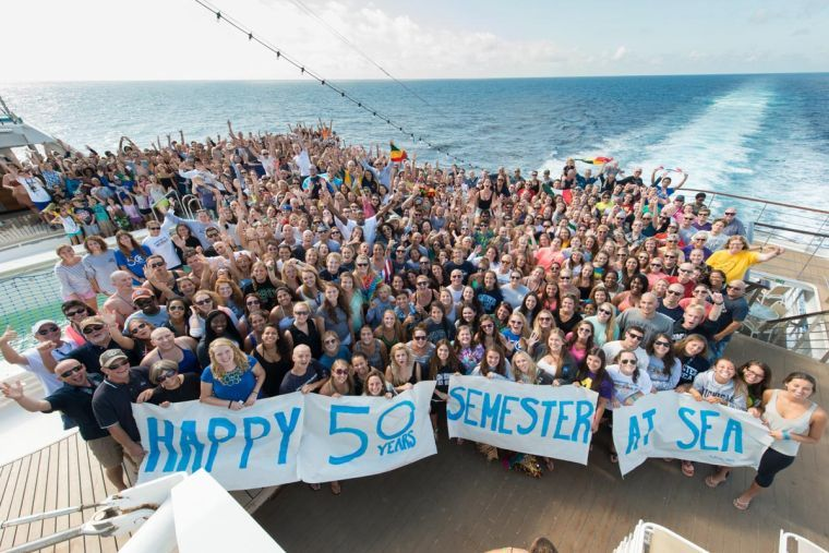 Celebrating 50 years of education at sea
