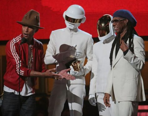 Daft Punk takes album and record of the year at Grammys