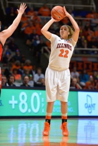 Illini women's basketball's Crawford stepping up