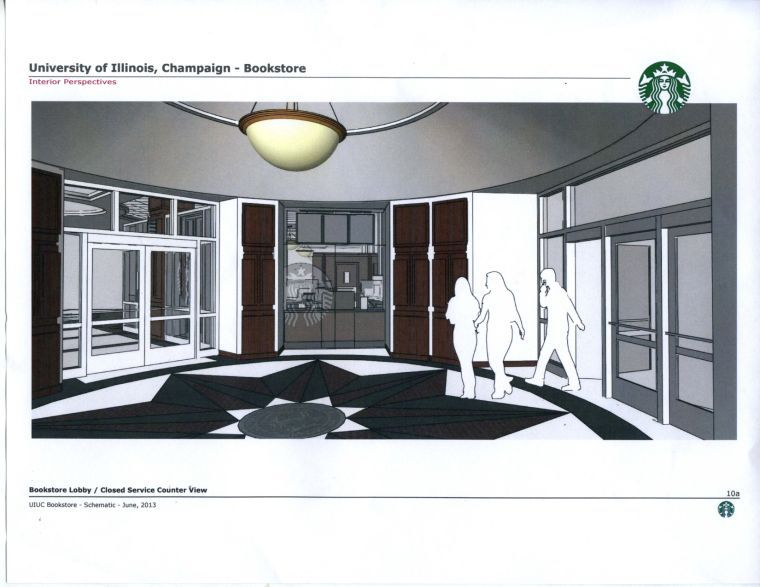 A+Starbucks+store+is+set+to+open+at+the+Illini+Union+Bookstore+in+late+March.+This+is+the+first+of+three+University-operated+Starbucks+franchises+that+will+open+over+a+three-year+period.