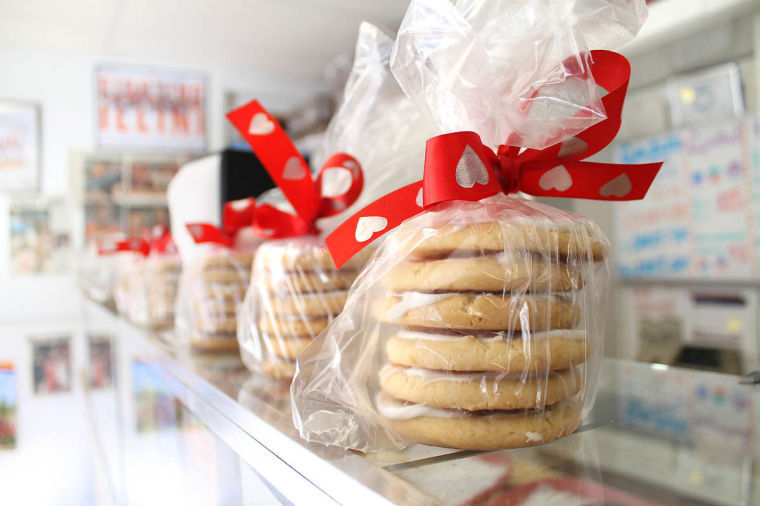The+Cookie+Jar+owner+Ed+Brubaker+made+the+switch+from+pouring+concrete+to+baking+cookies+14+years+ago.+He+now+enjoys+getting+to+know+his+customers+as+he+bakes+custom+creations+for+the+upcoming+Valentine%E2%80%99s+Day+holiday.