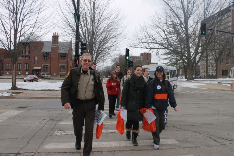 Sheriff+Dan+Walsh+during+th+%22Walk+As+One%22+event