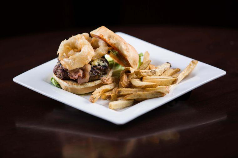 Find a taste of Ireland in Dublin O'Neil's Pub Burger