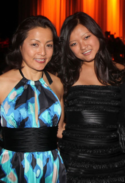 """Jian Ping (left) and Lisa Xia are subjects of the documentary, """"Mulberry Child,"""" showing at 7 p.m. Tuesday at the Spurlock Museum."""