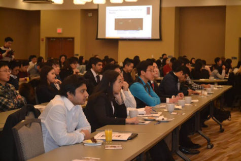 Seminar brings international students together to learn American business Etiquette
