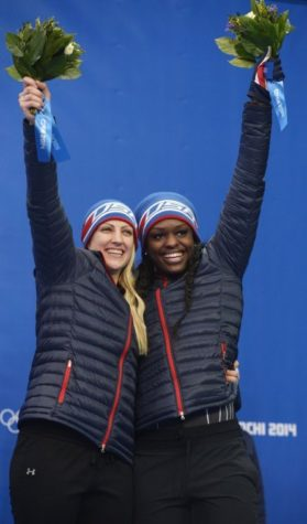 Former Illini Aja Evans wins bronze in women's bobsled