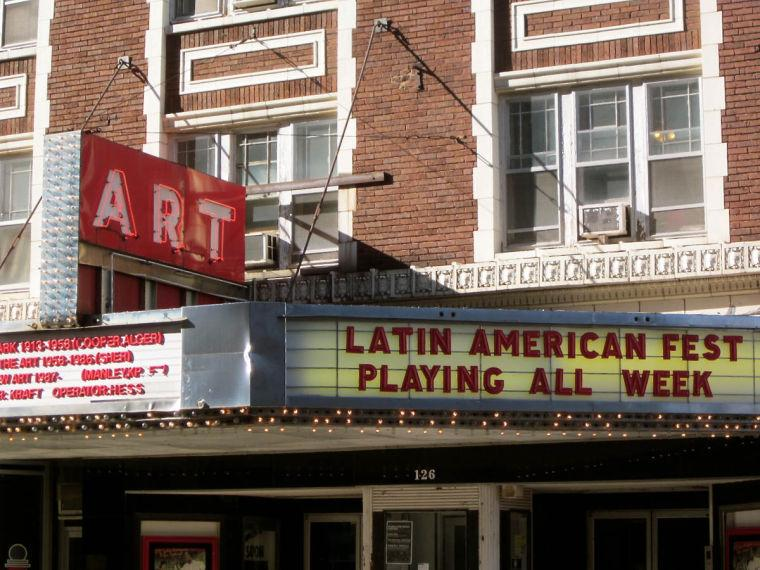 The Art Theater in Champaign is an independent theater housed in a 100-year-old building.