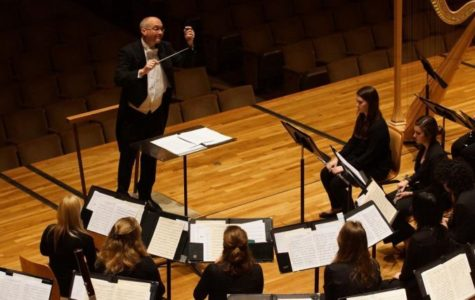 Student becomes first doctoral candidate in wind conducting