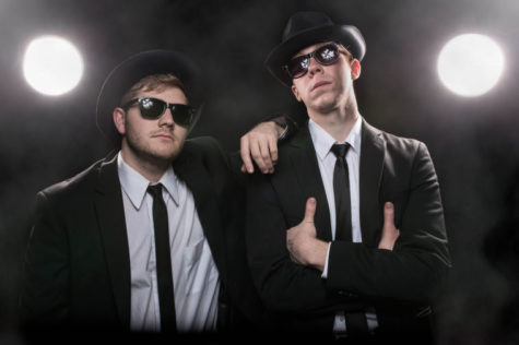 University Basketball Band members bring back a popular '90s Blues Brothers tradition