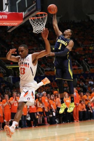 Illinois men's basketball blown out by No. 12 Michigan