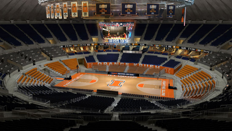 Illinois Basketball To Return To New Look State Farm