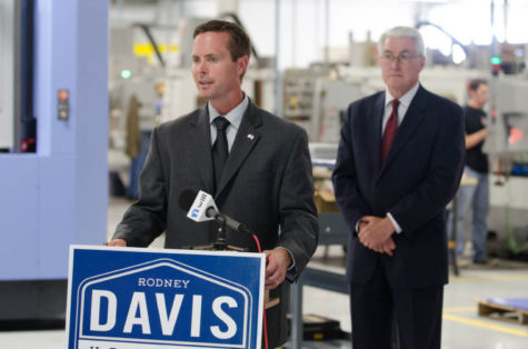 Rodney Davis wins the Republican nomination for the 13th district
