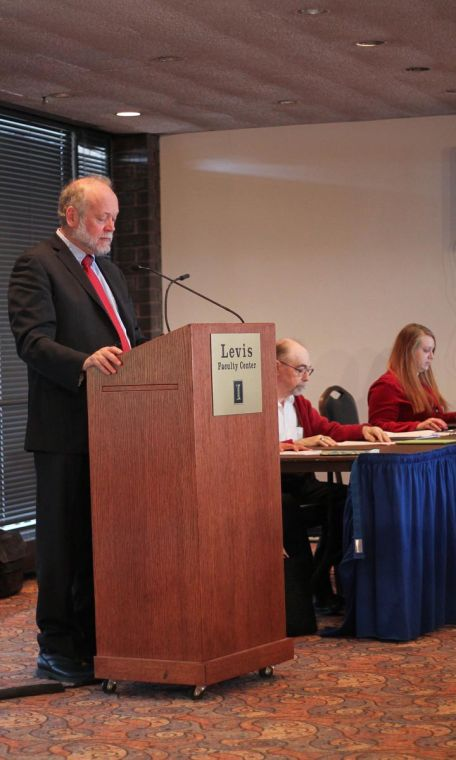 The Urbana-Champaign Senate meeting, which took place in the Levis Faculty Center, addressed important issues concerning the search for the next University president.