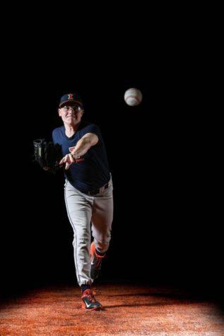 Duchene has become staff leader for Illini baseball