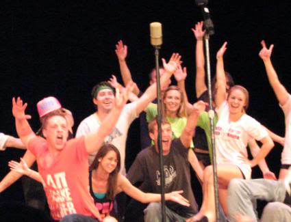 University Greeks to hit Foellinger's stage for annual Atius-Sachem Mom's Day Sing
