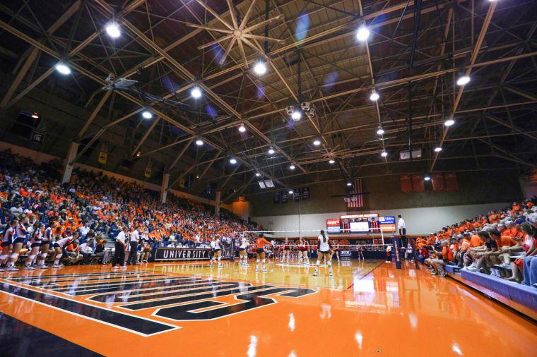 Illinois%27+fans+fill+the+stands+during+the+game+against+Nebraska+at+Huff+Hall%2C+on+Oct.+1%2C+2013.%C2%A0