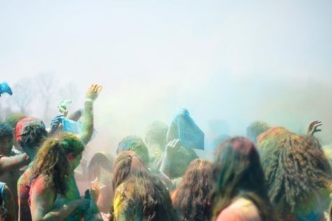 Campus celebrates spring festival of colors
