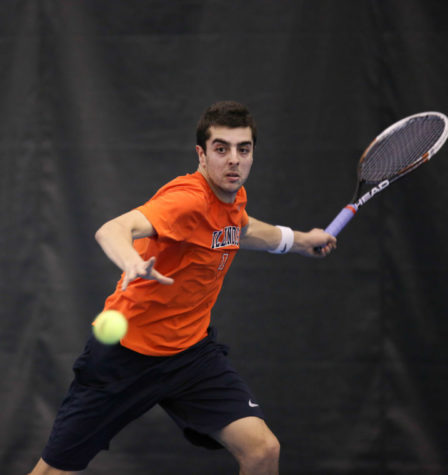 Illini men's tennis to face tough road test in Kentucky