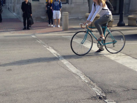 University teams up with Champaign County Bikes to conduct campus-wide bike census
