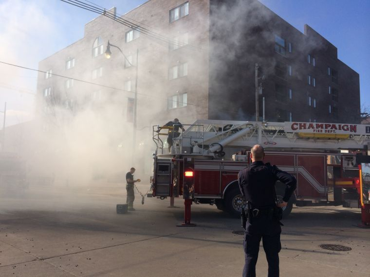 Fire reported at Empire Chinese Restaurant
