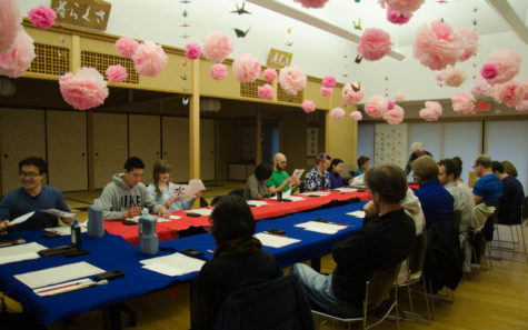 Calligraphy classes share Japanese culture with CU community