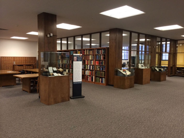 The+University%27s+Rare+Book+and+Manuscript+Library%2C+located+in+the+Main+Library%2C+holds+a+variety+of+diverse+collection+of+letters%2C+manuscripts+and+illustration+books+for+students+to+explore.
