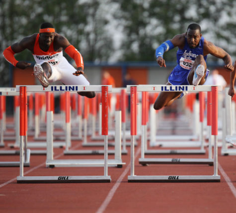 "Illini hurdler Vanier Joseph's dad watches over his ""unfinished business"""