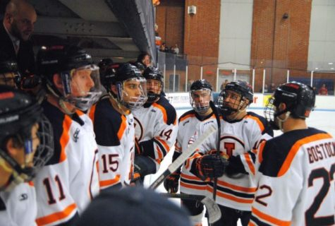 Illinois hockey struggles with consistency, tough schedule