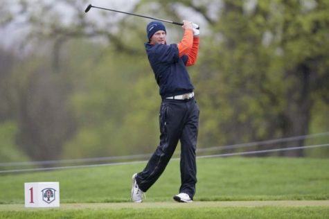 Illini junior Brian Campbell took home individual honors in the 54-hole tournament. The Illini won the NCAA regional Saturday, securing their spot in the NCAA Championships.