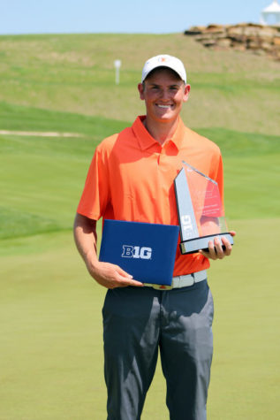 Illinois men's golf misses out on Big Ten six-peat