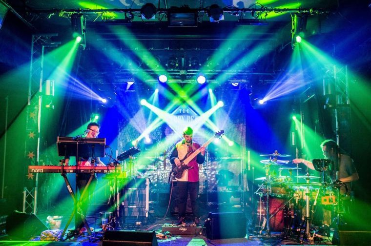 IndigoSun, a psychedelic dance music band, plays a show at Cubby Bear Wrigleyville in Chicago. The band played a show at Canopy Club on Thursday.