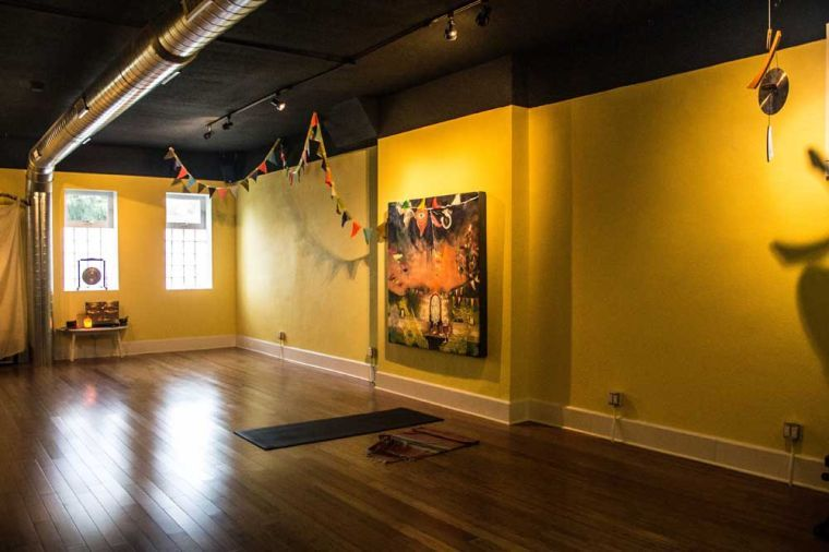Living Yoga Studio's new location at 212 S. First St. in Champaign. The studio's new home opened on July 5 after owners Steve and Sharon Willette decided to relocate from Urbana.
