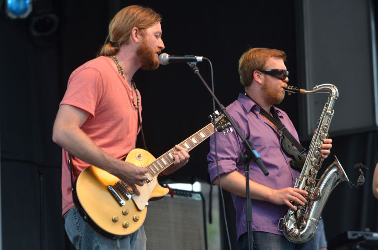 The Dirty Feathers perform on Green Street at Bud Light Summer Stage 2013. 2014's festival will take place Saturday.