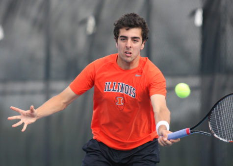 Illinois focuses on domestic players in global game of NCAA tennis