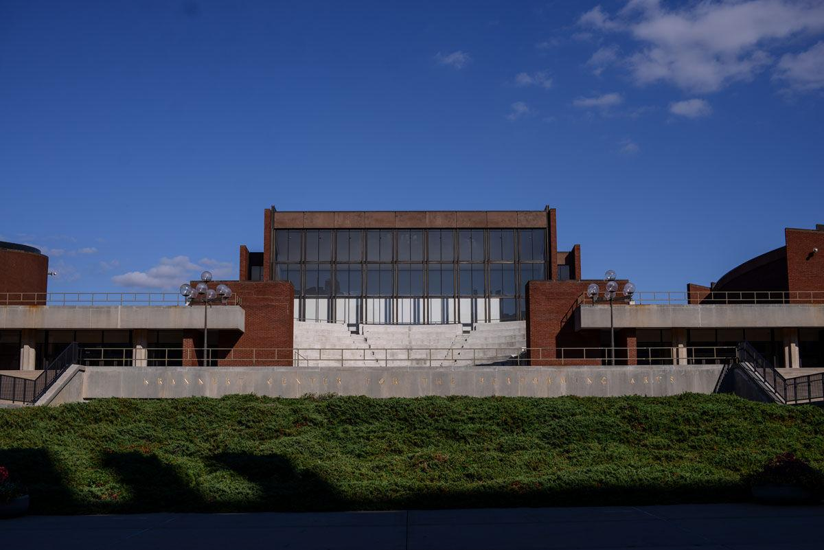 The Krannert Center for the Performing Arts will undergo exterior maintenance renovations starting in October.