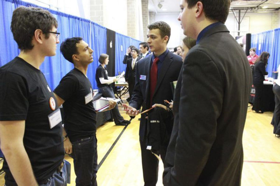 Students met with employers at the Engineering Employment Expo last year, which ran from Sept. 23 Sept. 25.