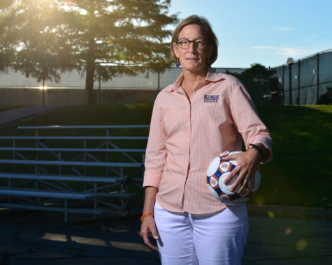 Illinois soccer's Rayfield journey to 200 wins