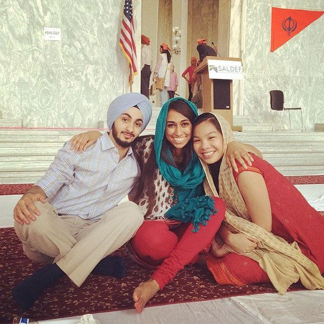 University Langar event inspires similar Langar on Capitol Hill
