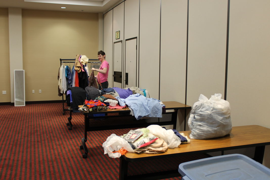 The CU Pride Festival held its first clothing drive on Saturday to provide free clothes for attendees of all gender expressions.