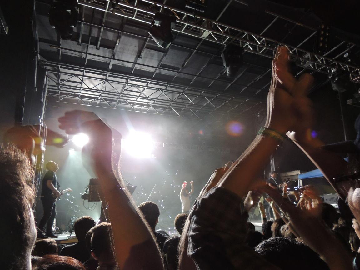 Chvrches performs Saturday night at the Highdive outdoor stages.