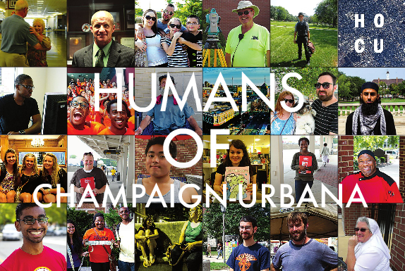 Humans of Champaign project connects University to local community