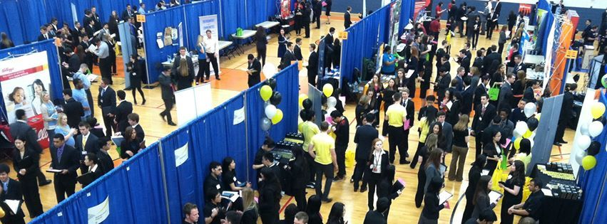Career fairs great way to network, find internships