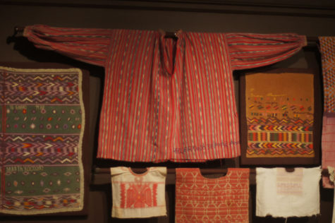 """Artists of the loom: Maya Weavers of Guatemala"" is the newest exhibit at the Spurlock Musuem opening Tuesday. The collection features hand-woven textiles made by the descendants of Mayan people in Guatemala."